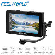 Feelworld F5 Pro 5.5'' Touch Screen DSLR Camera Field Monitor with Sunshade & External Kit