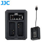 JJC DCH-BLN1 Dual USB Battery Charger for Olympus BLN-1