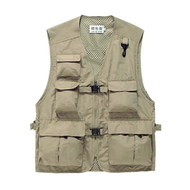 Fotolux V9244 Camera Vest (Khaki)