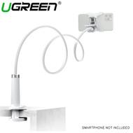 Ugreen LP113 Gooseneck Flexiable Desktop Smartphone Holder Clamp (White)