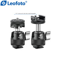 Leofoto F-19 Cold Shoe Adapter Mini Ball Head (Max Load 5kg )