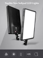 Nanlite CN-T340II 68W Soft Pad Video LED Light (5600K)