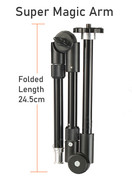 Fotolux Heavy Duty Super Magic Arm