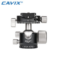 Cavix D-35S Low Profile Ball Head with Panning Clamp