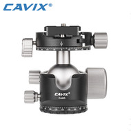 Cavix D-40S Low Profile Ball Head with Panning Clamp
