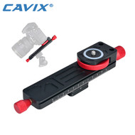 Cavix W-160 Macro Focusing Rail Slider Plate with Arca Swiss Base