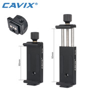 Cavix SJ-03 Aluminium Phone Holder (Clamp Range : 60-93mm)