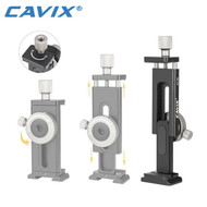 Cavix SJ-04 Aluminium Adjustable Phone Clamp (Clamp Range: 60-110mm)