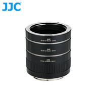 JJC AET-CSII 3 Ring Auto-Focus AF Macro Extension Tube for Canon EF / EF-S Mount