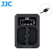 JJC DCH-BLF19E Dual USB Battery Charger for Panasonic DMW-BLF19 / Sigma BP-61