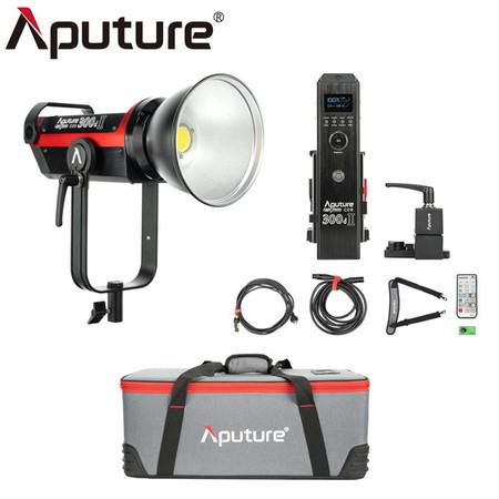 Aputure LS C300D II Light Storm 300W LED Light V-Mount Kit (5500K)