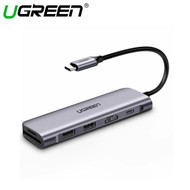 Ugreen 70411 6-in-1 4K USB-C Multifunction Adapter