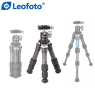 Leofoto LS-223C+LH-25 Ranger Series Compact Table Top Carbon Fibre Tripod with Ball Head ( Max Load 10kg)