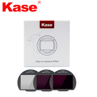 Kase 3 in 1 Clip-in Neutral Density Filter Kit (ND8+ND64+ND1000) for Canon R5 , R6