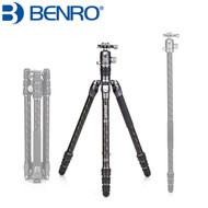 Benro FRHN24C+ VX25 Rhino #2 Transfunctional Carbon Fiber Tripod / Monopod with Ball Head (Max Load 18kg)