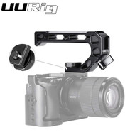 UURig R008 Universal Cold Shoe Top Handle (4 Cold Shoe , 15mm Rod port)  for Camera Cage