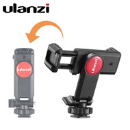 Ulanzi ST-06 Smartphone Holder with Cold Shoe (Clamp Range : 60-100mm)