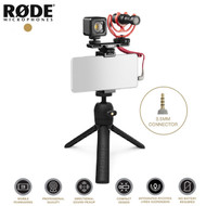 Rode Vlogger Kit Universal Edition with VideoMicro (3.5mm Connector)