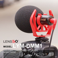 LENSGO LYM-DMM1 Cardioid Video Microphone (3.5mm Connector)