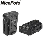 Nicefoto BP-V01II V-mount Power Box Dual Battery Adapter (DC24V output)