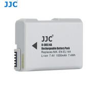 JJC B-ENEL14A 7.4V 1000mAh 7.4Wh Rechargeable Battery (Replaces Nikon EN-EL14A)
