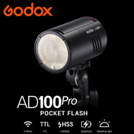 Godox AD100Pro 100Ws TTL Pocket Round Head Flash Kit (5800K,  2.4G , HSS ,1/8000s)