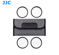 JJC F-C77K  77mm Close-Up Macro Filters (+2, +4, +8, +10) with Filter Pouch