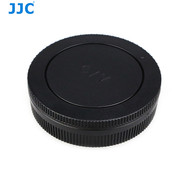 JJC L-R15 Body Cap & Rear Lens Cap for Canon EOS-M Camera / EF-M Lens (Replaces Canon R-F-4 / EB Lens Dust Cap )