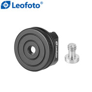 "Leofoto FA-05 Cold Shoe Conversion Adapter (Converts 1/4"" Male or Female to a Cold Shoe)"