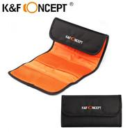 K&F Concept KF13.003 Pocket Lens Filter Bag Pouch Case for 6 Filters (62-82mm)