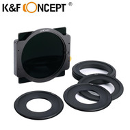 K&F Concept SN25T 100 x 100mm ND1000  Square Filter with Filter Holder & Adapter Rings
