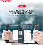 Yelangu PC05 Aluminium Smartphone Video Rig / Cage (Clamp Range: 46-87mm)
