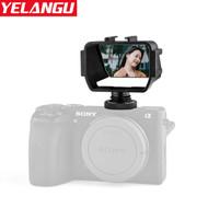 Yelangu A74 DSLR Vlog Viewer for Camera (Flip-up tilting / Articulating LCD screen)