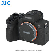 JJC SS-A7R4MK Anti-Scratch Protective Skin Film for Sony A7R IV (Matrix Black , 3M Material)