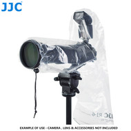 JJC RI-6 Camera Rain Cover (fits 1 DSLR + 1 Speedlight + Lens up to 45cm long , 17cm wide)