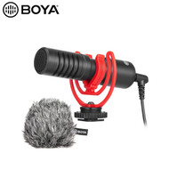 BOYA BY-MM1+ Super-cardioid Condenser Shotgun Microphone (3.5mm Connector)