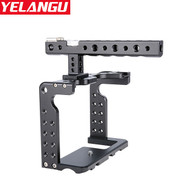 Yelangu C7-B Aluminum Camera Cage with Top Handle for Panasonic GH5