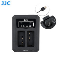 JJC DCH-LPE17 USB Dual Battery Charger for Canon LP-E17