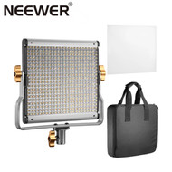 Neewer 480 29W Bi-Color Flat Panel LED Video Light with U Bracket (3200K-5600K)