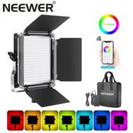 Neewer 660RGB 40W RGB Flat Panel LED Light with APP Control (3200K-5600K)