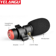 Yelangu MIC06 (3.5mm Connector) Cardioid Microphone for Smartphone