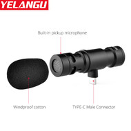 Yelangu MIC06 (Type-C Connector) Cardioid Microphone for Smartphone
