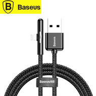 Baseus CAL7C Iridescent Lamp USB to Lightning Cable 1M ( Black / Purple) for iPhone