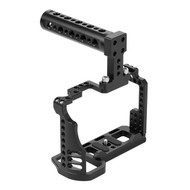 Fotolux Video Camera Cage with Top Handle for Sony A74