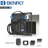 Benro FH100M2K1 FH100MarkII 100mm Square Filter Holder Kit ( GND8 + ND64 + Filter Bag)