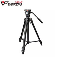 Weifeng WT-3308A 1.7m Video 3-section Tripod with Fluid Head  (Max Load 4kg , Flip lock)