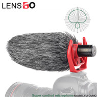 LENSGO LYM-DMM2 Super Cardioid Video Microphone (3.5mm Connector)