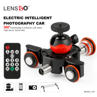 LENSGO L8X Motorized Auto Dolly with Remote Control for Smartphone / Camera