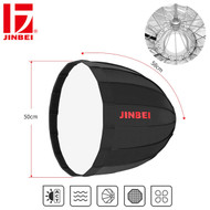 Jinbei 50cm Deep Parabolic Umbrella Softbox (Folding)