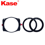 Kase K9 100mm Square Filter Holder with Adapter Ring & 77-82mm Step Up Ring (Simple Version)